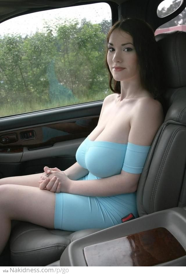Huge tits hitchhiking 12